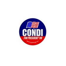 Condi Rice For President Mini Button (10 pack)