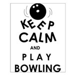 keep calm Small Poster