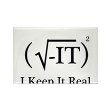 I Keep it Real Rectangle Magnet (100 pack)