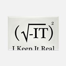 I Keep it Real Rectangle Magnet (10 pack)