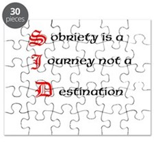 Sobriety is a Journey not a Destination Puzzle