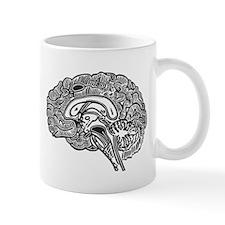 Science Geek Brain Mug