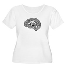 Science Geek Brain T-Shirt
