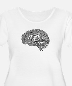 Science Geek Brain T-Shirt