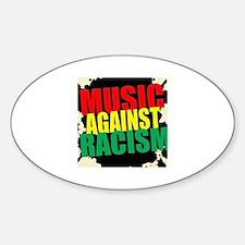 music against racism.jpg Decal
