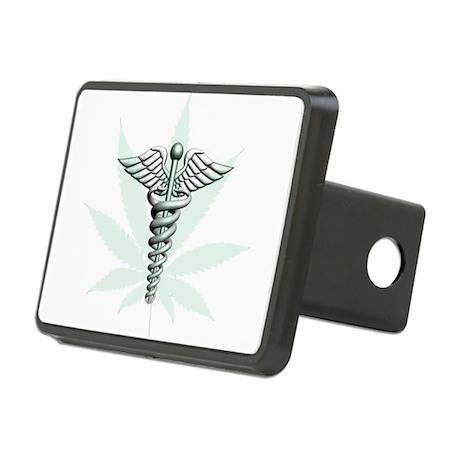 medical marajuana Rectangular Hitch Cover