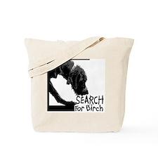 Search birch odor scent nose work Tote Bag