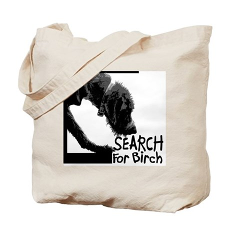 Search birch odor scent nose work Tote Bag