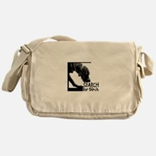 Search birch odor scent nose work Messenger Bag