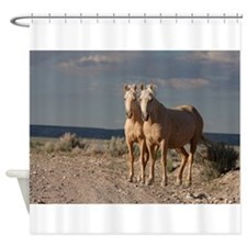 Matched Palominos Shower Curtain