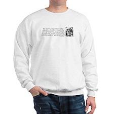 Ronald Reagan Explains the Debt Crisis Sweatshirt