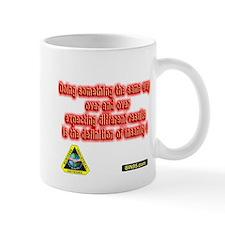 Doing something over the same way Mug