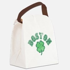 bostonclover3.png Canvas Lunch Bag