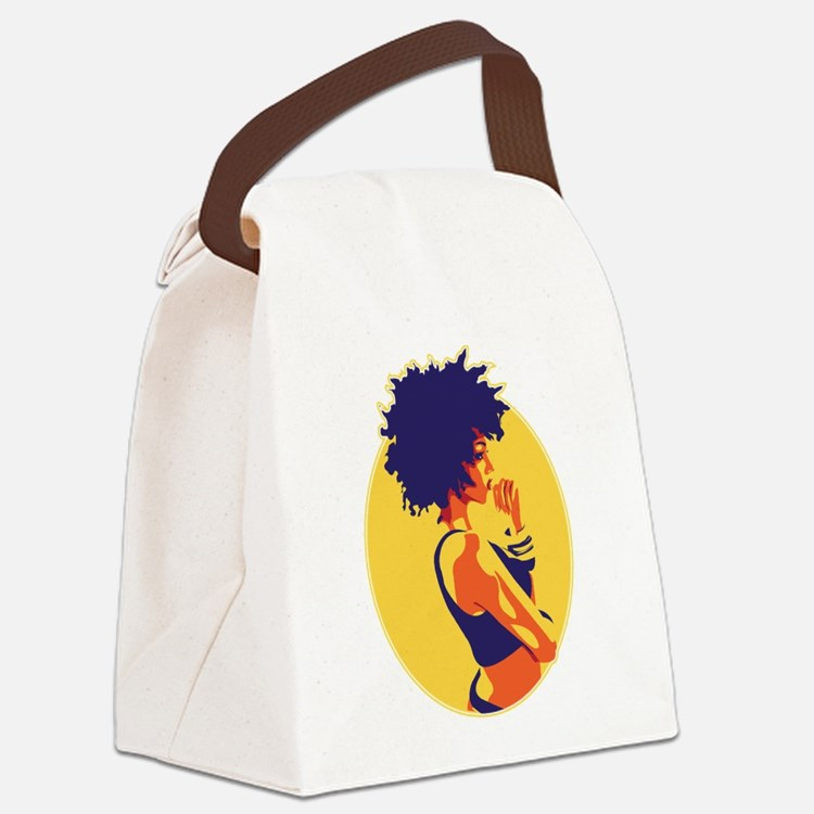 thinkerTEE.png Canvas Lunch Bag