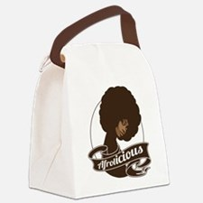 afrolicious.png Canvas Lunch Bag