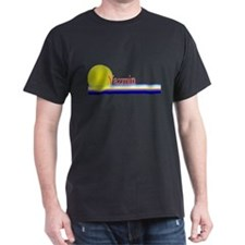 Yazmin Black T-Shirt