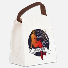 ladyluck.png Canvas Lunch Bag