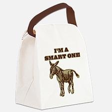 pokerDONKEY.png Canvas Lunch Bag