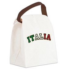 italiaBENTBLACK.png Canvas Lunch Bag