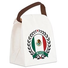 mexicowreath.png Canvas Lunch Bag