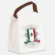 mexicoshield.png Canvas Lunch Bag
