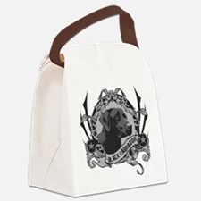 blacklapSTAMP.png Canvas Lunch Bag