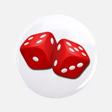 """Red Dice 3.5"""" Button"""