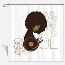 soul4.png Shower Curtain