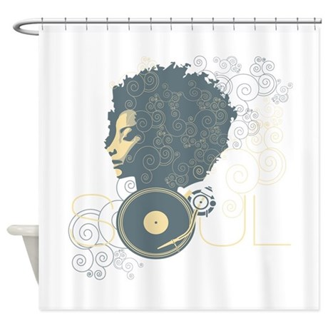 soul2.png Shower Curtain