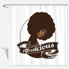 Black Woman Shower Curtains