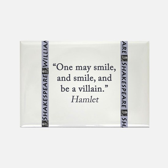One May Smile, and Smile Rectangle Magnet (10 pack