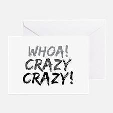 Whoa! Crazy Crazy! Greeting Cards (Pk of 10)