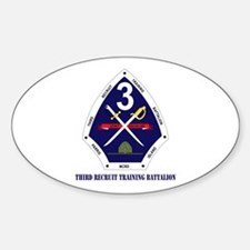 Third Recruit Training Battalion with Text Decal