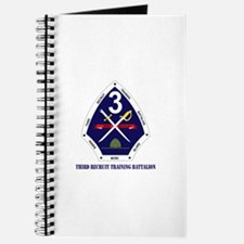 Third Recruit Training Battalion with Text Journal