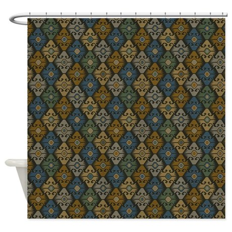 Exotic Pattern Shower Curtain By Iloveyou1