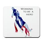 Patriotic Schutzhund Mousepad