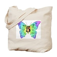 Baby is Five - 5 Months? or 5 Years? Tote Bag