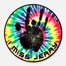I Miss Jerry Round Car Magnet