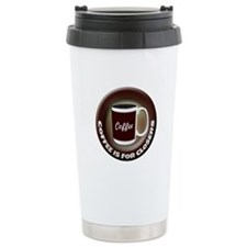 Coffee is for Closers Thermos Mug