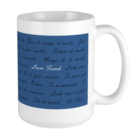 Learn French Large Mug
