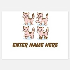 Personalized Kittens Invitations