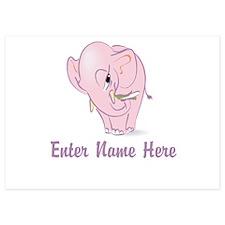 Personalized Elephant Invitations
