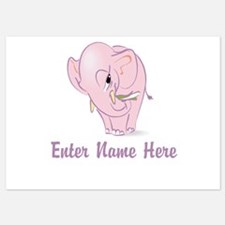 Personalized Elephant Invitations
