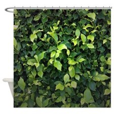 Green Ivy Shower Curtain