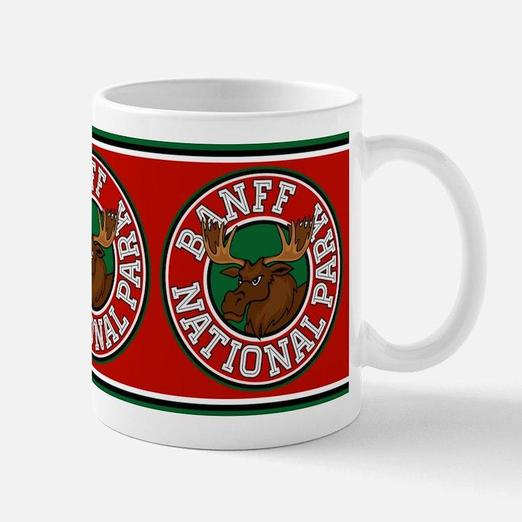 Banff Moose Circle Mug