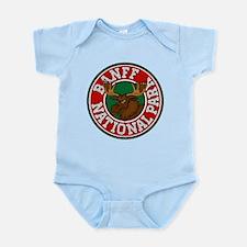 Banff Moose Circle Infant Bodysuit