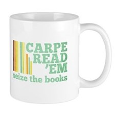 Carpe Read 'Em Small Mug