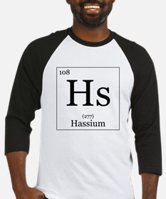 Elements - 108 Hassium Baseball Jersey