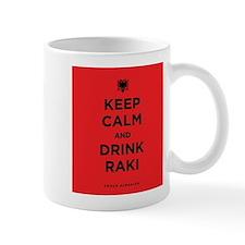 Keep Calm and drink raki Mug