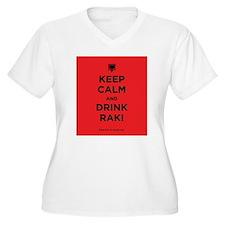 Keep Calm and drink raki T-Shirt